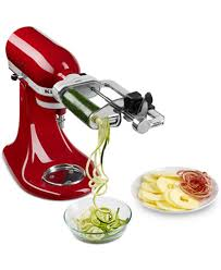 kitchenaid spiralizer attachment. kitchenaid ksm1apc spiralizer stand mixer attachment kitchenaid i