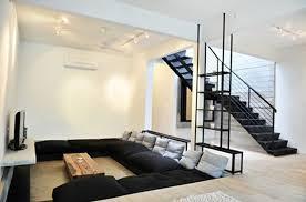pits and sunken living room design
