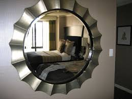 Round Bedroom Mirror