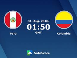 Peru Colombia live score, video stream and H2H results - SofaScore