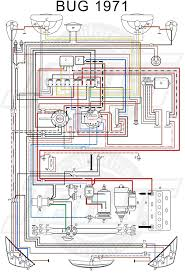 vw tech article 1971 wiring diagram vw 1500 sedan and convertible wiring key