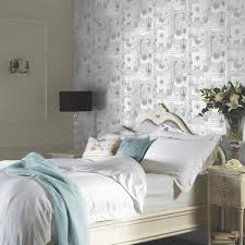 Shabby Chic Bedroom Wallpaper Shabby Chic Floral Wallpaper In Various Designs Wall Decor New Ebay