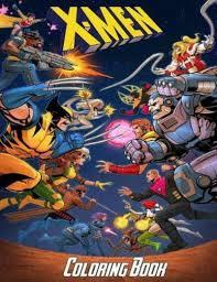 X men 10 printable coloring page. Marvel X Men Coloring Activity Book 2003 For Sale Online Ebay