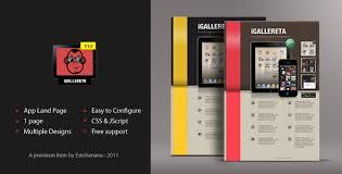 App Sales Igallereta Mobile App Sales Page By Estebanana Themeforest