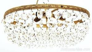 full size of antique french basket style chandelier vintage brass crystal from 1950s antiques atlas ormolu