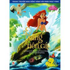 Sách - Tranh Truyện Màu Đồng Hành Với Phim Hoạt Hình - Nàng Tiên Cá
