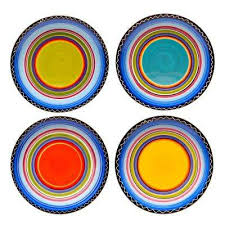 Patterned Dinnerware Magnificent Patterned Plates Dinnerware The Home Depot