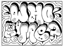 Graffiti Coloring Book 3l L Duilawyerlosangeles