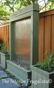 O Sagebrush Green Stained DIY Outdoor Water Wall