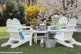 Gorgeous Inspiration Plastic Adirondack Chairs And Tables Amazing