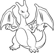 pokemon charman new pokemon mega charizard y coloring pages