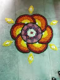 Simple Pookalam Design Pookkalam Athapookalam Designs Simple Pookalam Design