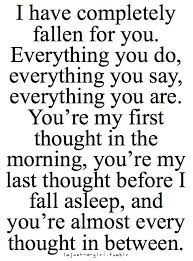The Love I Have For You Quotes