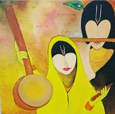 meera krishna abstract painting
