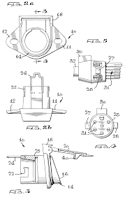 patent us6554626 electrical receptacle assembly google patents patent drawing