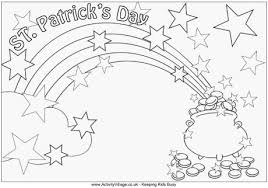 Small Picture St Patricks Day Colouring Page 2