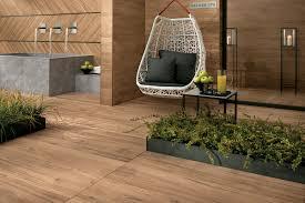 view in gallery wood grain porcelain tile patio atlas concorde etic
