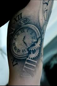 Tattoo Ideas Hodiny Tatuajes De Relojes Tatuajes Con Sombras A