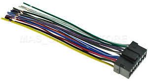 sony mex nbt wiring diagram sony image wiring wire harness for sony mex bt4000p mexbt4000p mex bt3000p on sony mex n5100bt wiring diagram