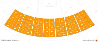 Toyota Amphitheater Detailed Seating Chart Toyota Amphitheatre Vip Box Seats Rateyourseats Com