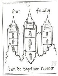 Small Picture Melonheadz LDS illustrating I Love to see the temple coloring