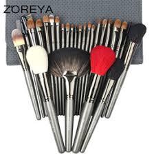 zoreya brand sable hair 26pcs highl quality makeup brushes professional make up brush set with cosmetic bag