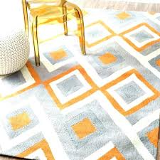 grey and orange area rugs new living room rug bedroom awesome designs with regard burnt green