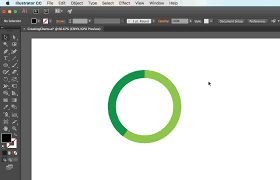 Create Pie Chart In Illustrator Cc Adobe Illustrator Creating Charts Annenberg Digital Lounge