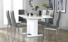 white and gray dining table amazing dark grey chairs room walls design ideas furniture e88 dining