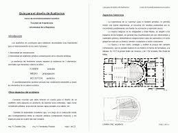 Guide To Design Auditoriums Pdf Document Designs Cad