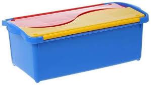 <b>Ящик</b> для хранения <b>игрушек PLAST</b> TEAM Combi пластик PT1988 ...