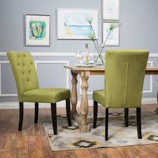 room chairs nyomi fabric dining chair set of 2 by christopher knight home