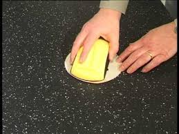 how to remove scratches from your maia solid surface worktops