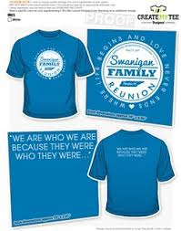 Creat A Shirt Family Reunion T Shirt Designs Createmytee