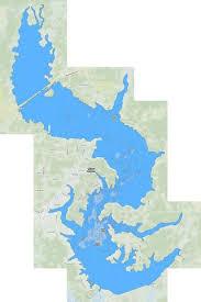 Cypress Bayou Reservoir Fishing Map Us_la_00554161