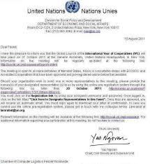 cover letter united nations co cover letter united nations education charter international