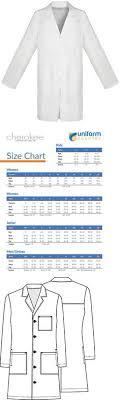 Unisex Lab Coat Size Chart 714 Best Lab Coats 105417 Images