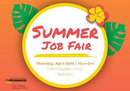 Summer Jobs Summer Jobs And Internship Fair Panther Families
