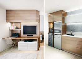 Small Open Plan Home Interiors Flat Kitchen Apartment Design Tiny Unique  Ideas Simple Cabinet Furniture Photos