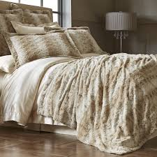 Leopard Bedroom Snow Leopard Fuzzy Blanket Shams Pier 1 Imports Products I