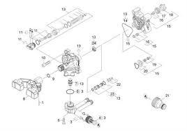 karcher k eu pressure washer spares parts housing ref 17