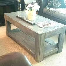coffee table made from crates coffee table made out of wood pallets coffee table made of