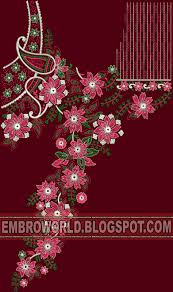 Latest Embroidery Designs Latest Embroidery Creative Tunic Embroidery Design 2018