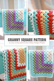 Easy Crochet Granny Squares Free Patterns Simple Granny Square Pattern A Free Crochet Pattern