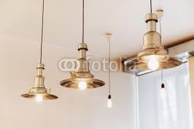 coffee shop lighting. Loft Style Lighting Decor In Coffee Shop. Shop