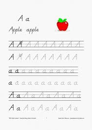 handwriting fonts for teaching children to write d nealian school  aa letter aa letter