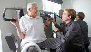 exceptional respite care in abingdon bridge house bridge house resident using medical equipment