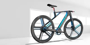 in the frame the 3d printed bike the