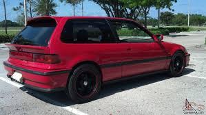 Honda Civic Si Hatchback 3-Door 1.6L Turbo DOHC ZC JDM Civic SiR ...