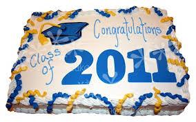 1 2 sheet Graduation Cake